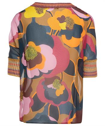 Luisa Cerano blouse bloemenprint