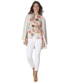 Luisa Cerano blouse bubble print