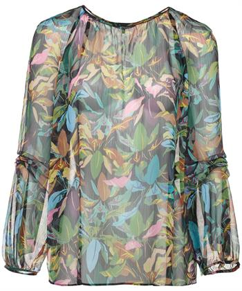 Luisa Cerano blouse flower