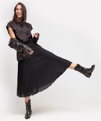 Luisa Cerano blouse met zijde