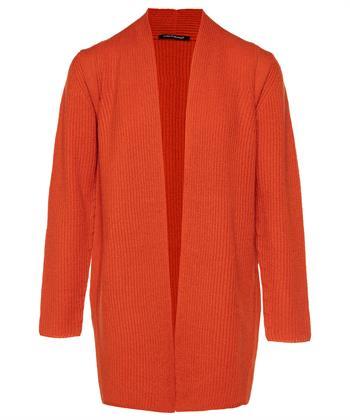 Luisa Cerano burned orange vest
