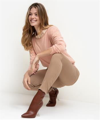 Luisa Cerano camel broek