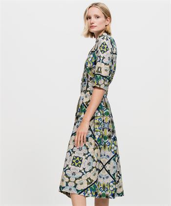 Luisa Cerano jurk bloemprunt