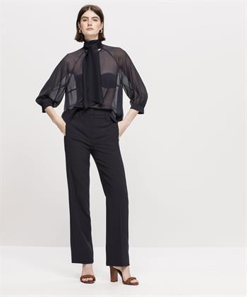 Luisa Cerano pantalon met wijde pijpen