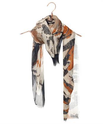 Luisa Cerano shawl met zijde