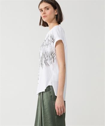 Luisa Cerano shirt met print