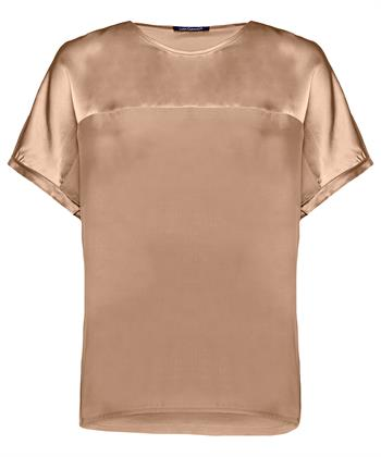 Luisa Cerano shirt met zijde