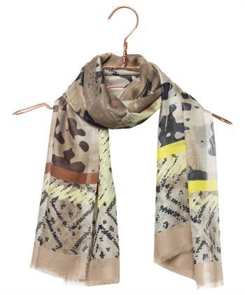 Luisa Cerano sjaal met print