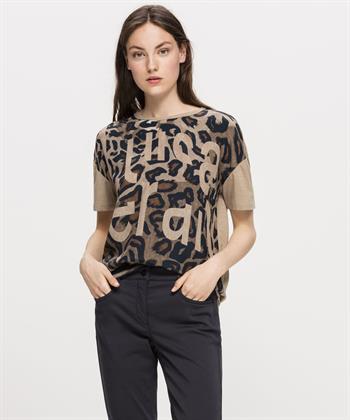 Luisa Cerano t-shirt dierprint
