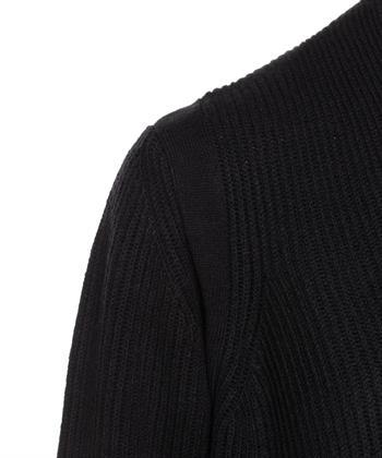 Luisa Cerano vest gebreid zwart