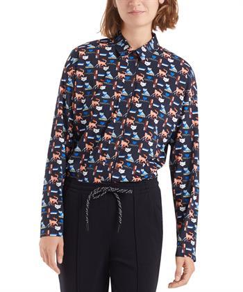 Marc Cain blouse 'çat'