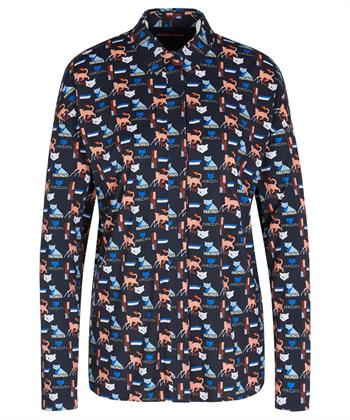 Marc Cain blouse 'cat'