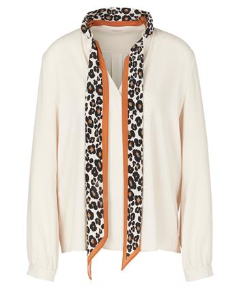 Marc Cain blouse dierprint accent