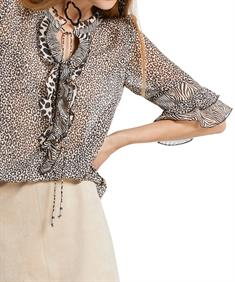 Marc Cain blouse dierprints