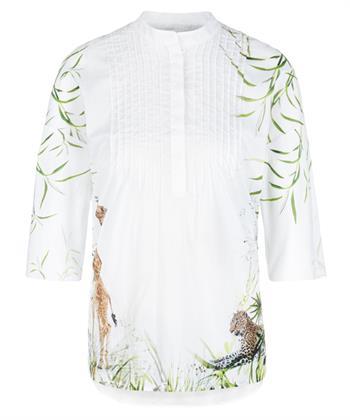 Marc Cain blouse met dierprint