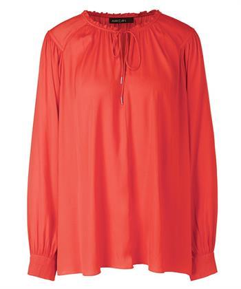 Marc Cain blouse plissé details