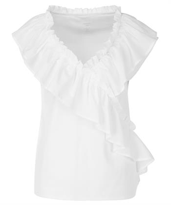 Marc Cain blouse ruches