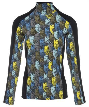 Marc Cain col shirt uilenprint