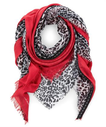Marc Cain dierprint shawl
