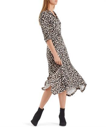 Marc Cain lange jurk luipaard