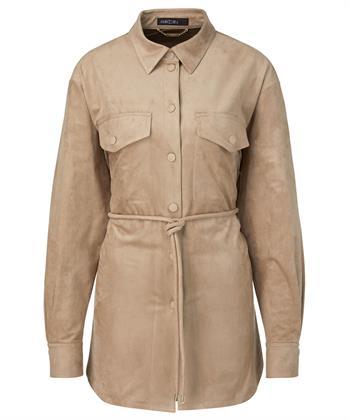 Marc Cain overhemd/blouse imitatiesuède