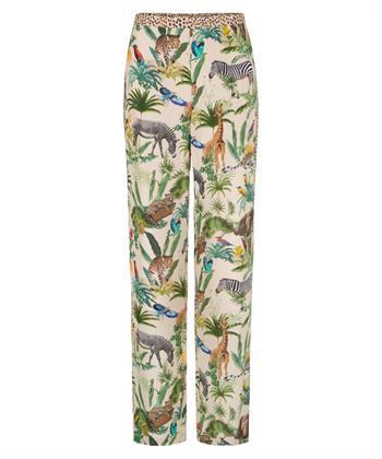 Marc Cain pantalon met jungleprint