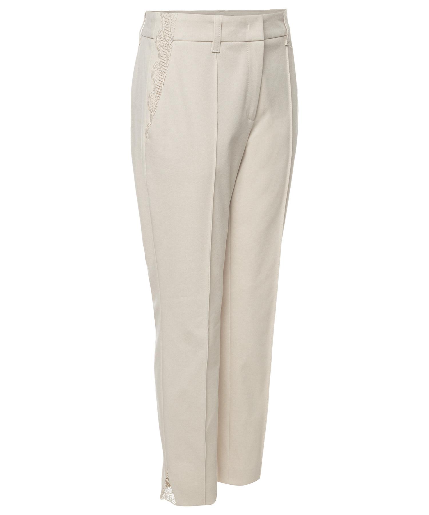 Marc Cain pantalon met kant