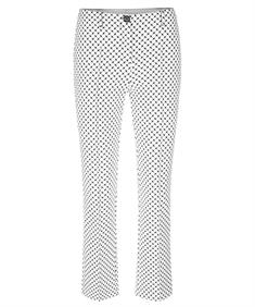 Marc Cain pantalon met minigraphics