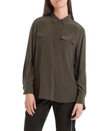 Marc Cain plissé blouse