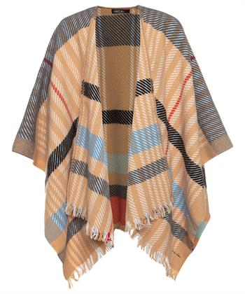 Marc Cain poncho ruit