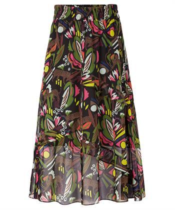 Marc Cain rok kleurrijke jungleprint