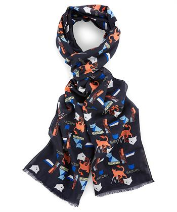Marc Cain shawl 'cat'
