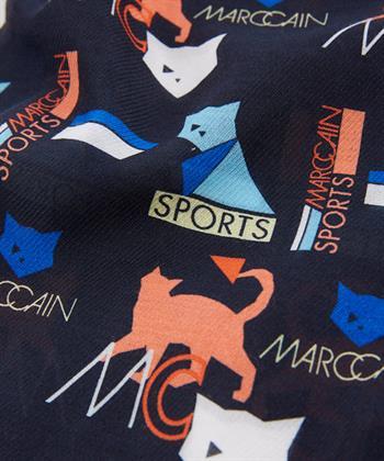 Marc Cain shawl 'cat'