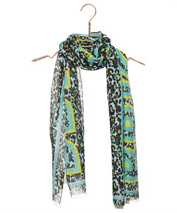 Marc Cain shawl dierprint