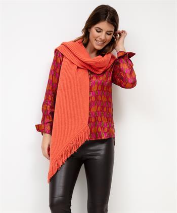 Marc Cain shawl gebreid
