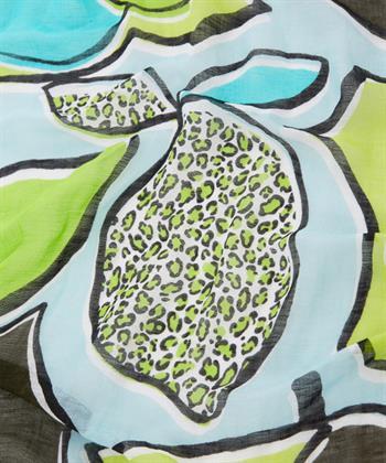 Marc Cain shawl 'lemon'