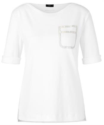 Marc Cain shirt boothals zilveren zakje