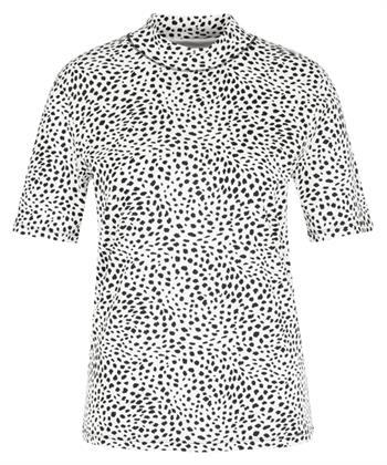 Marc Cain shirt dalmatiërprint