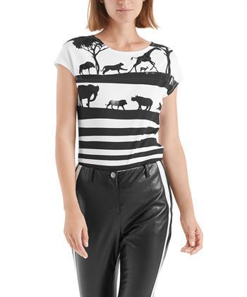 Marc Cain shirt lak en dieren