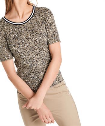 Marc Cain shirt luipaardprint