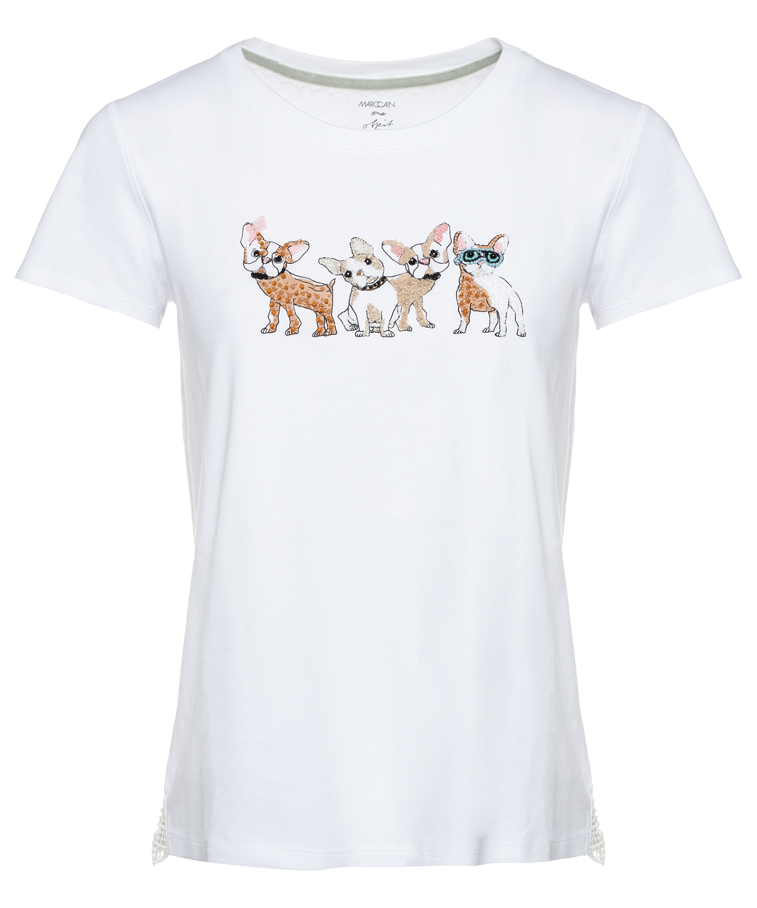 Marc Cain shirt met hondjes