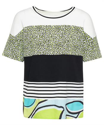 Marc Cain shirt mixprint