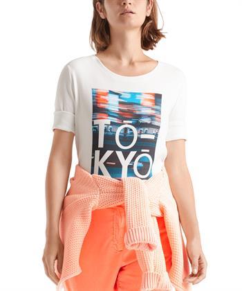 Marc Cain shirt Tokyo print
