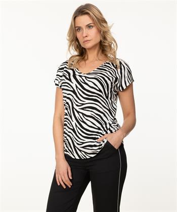Marc Cain shirt zebra