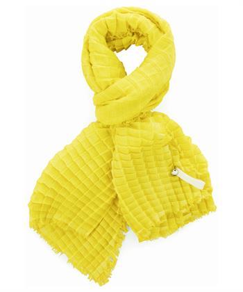 Marc Cain sjaal plissé