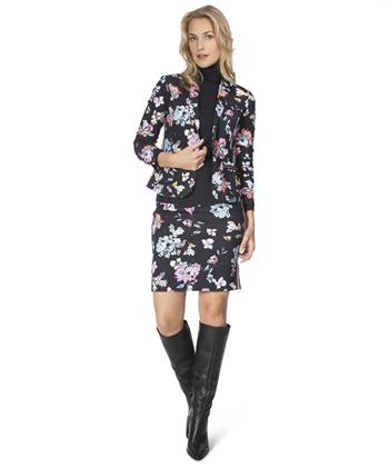 Marc Cain sports blazer flower scubba