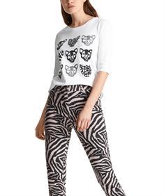 Marc Cain Sports shirt luipaardkoppen