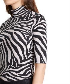 Marc Cain Sports zebra colshirt
