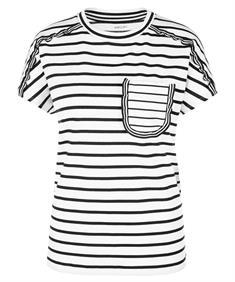 Marc Cain streepshirt met zakje
