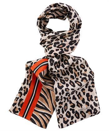 Marc Cain zijden shawl dierprints